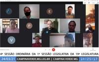 4ª SESSÃO ORDINÁRIA DA 1ª SESSÃO LEGISLATIVA DA 19ª LEGISLATURA