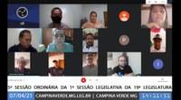 5ª SESSÃO ORDINÁRIA DA 1ª SESSÃO LEGISLATIVA DA 19ª LEGISLATURA