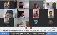 7ª SESSÃO ORDINÁRIA / 5ª SESSÃO EXTRAORDINÁRIA