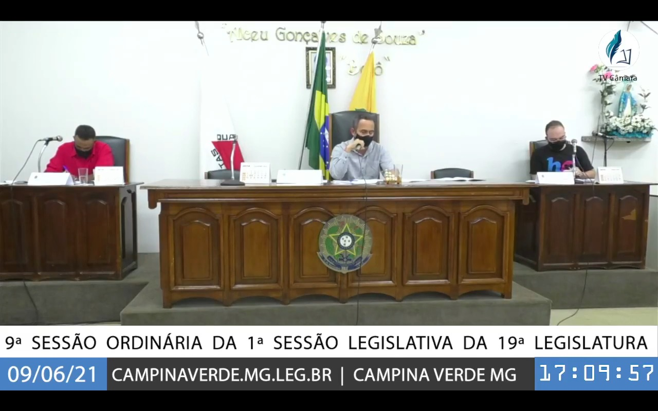9ª SESSÃO ORDINÁRIA DA 1ª SESSÃO LEGISLATIVA DA 19ª LEGISLATURA