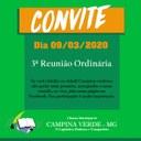 Convite para a 3ª Reunião Ordinária do 4º Período Legislativo da 18ª Legislatura.