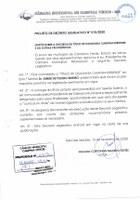 """Decreto 010/2020 - """"Título de cidadania Campinaverdense"""""""