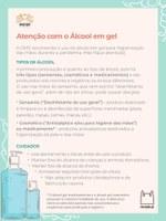 Fundação Oswaldo Cruz (Fiocruz) - Álcool em gel cuidados