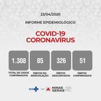 Secretaria de Saúde de Minas Gerais - Informe Epidemiologico
